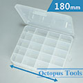 Plastic Box (20 compartments, 180 x 150 x 40mm)