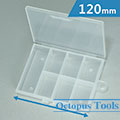 Plastic Storage Box (7 Compartments, 120 x 82 x 22 mm)