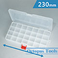 Plastic Storage Box (28 Compartments, 230 x 120 x 30 mm)