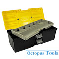 Multi Purpose Plastic Tool Box w/ Tray 350x135x130mm B-350