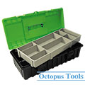 Multi Purpose Plastic Tool Box w/ Tray 370x180x125mm B-370