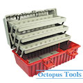 Multi Purpose Plastic Tool Box 430x230x205mm B-433