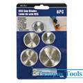 HSS Saw Disc Wheel Cutting Blades Set w/ Mandrel