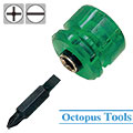 Miniature Reversible Driver Philips #1 / Slotted 4.5mm