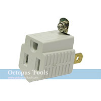Plug Adapter 3 to 2 Pin