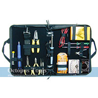 All In One Electrician Tool Kit 15pcs w/ Analog Ammeter