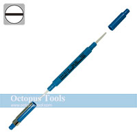 Ceramic Alignment Driver, Both Ends, Slotted 0.7x1.3mm / Slotted 0.4x2.4mm