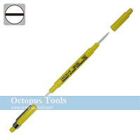 Ceramic Alignment Driver, Both Ends, Slotted 0.4x1.3mm / Slotted 0.7x2.5mm