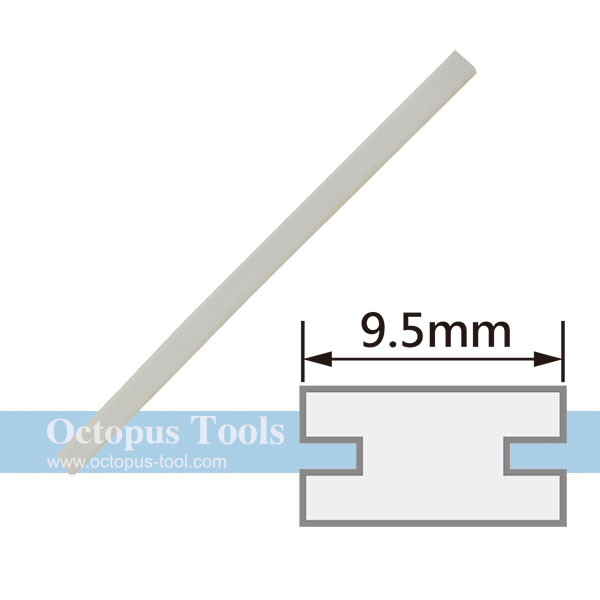 Silicone Bar H Type 9.5mm Wide