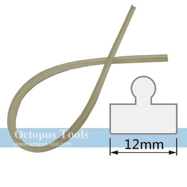 Silicone Bar For Foot Operated Impulse Sealer, 12mm Width