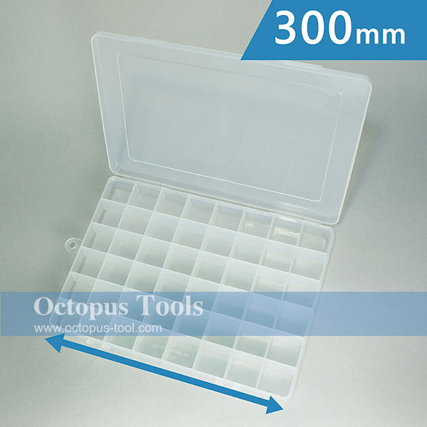Plastic Storage Box (48 Compartments, 300x220x35mm)