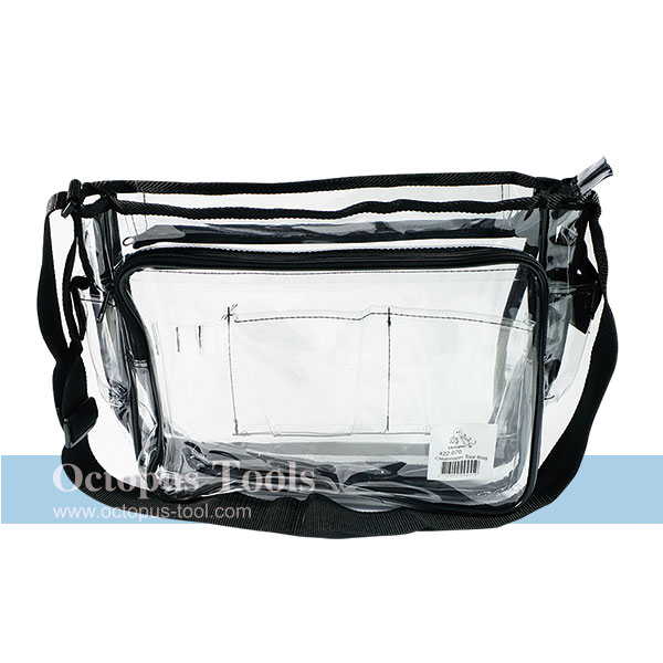 Transparent Tool Bag Two Compartments 12.9