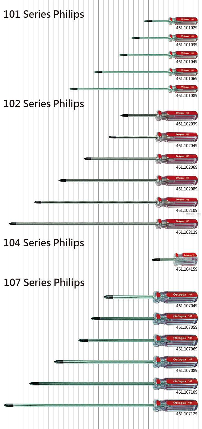 Phillips Shafts 6 Length #2 Size