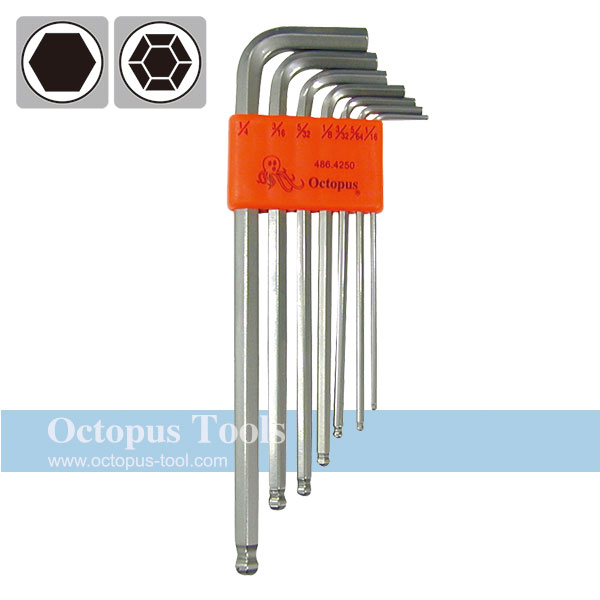 Ball End Hex Key Wrench 1/16