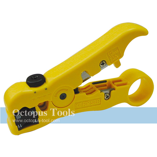Coaxial Cable Stripper for RG59/6/11/7, Adjustable