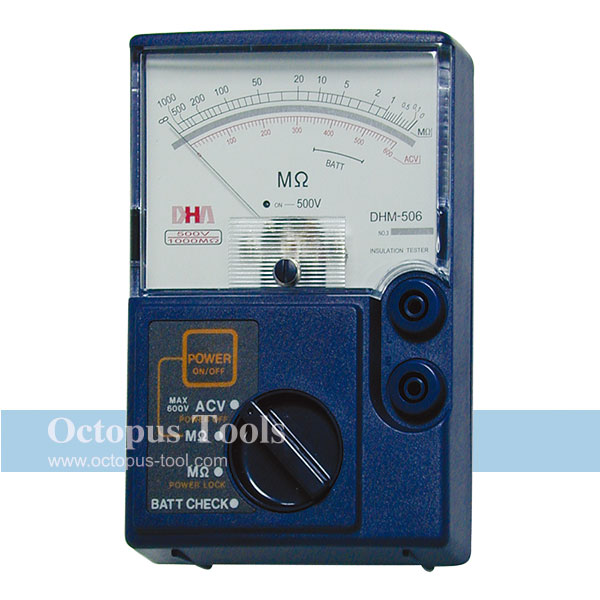 Insulation Resistance Tester DHM-506