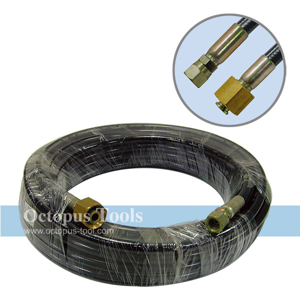 Rubber Hose for Car Washing 15M Long w/ Female Hose Nozzles